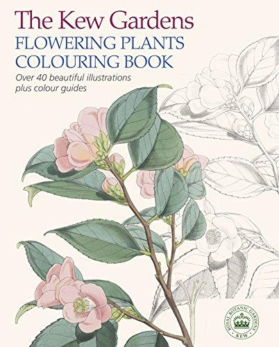 Image for The Kew Gardens Flowering Plants Colouring Book: Over 40 Beautiful Illustrations Plus Colour Guides