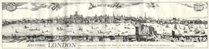 Image for Visscher View of London Poster