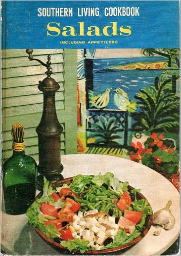 Image for SOUTHERN LIVING COOKBOOK. SALADS INCLUDING APPETIZERS
