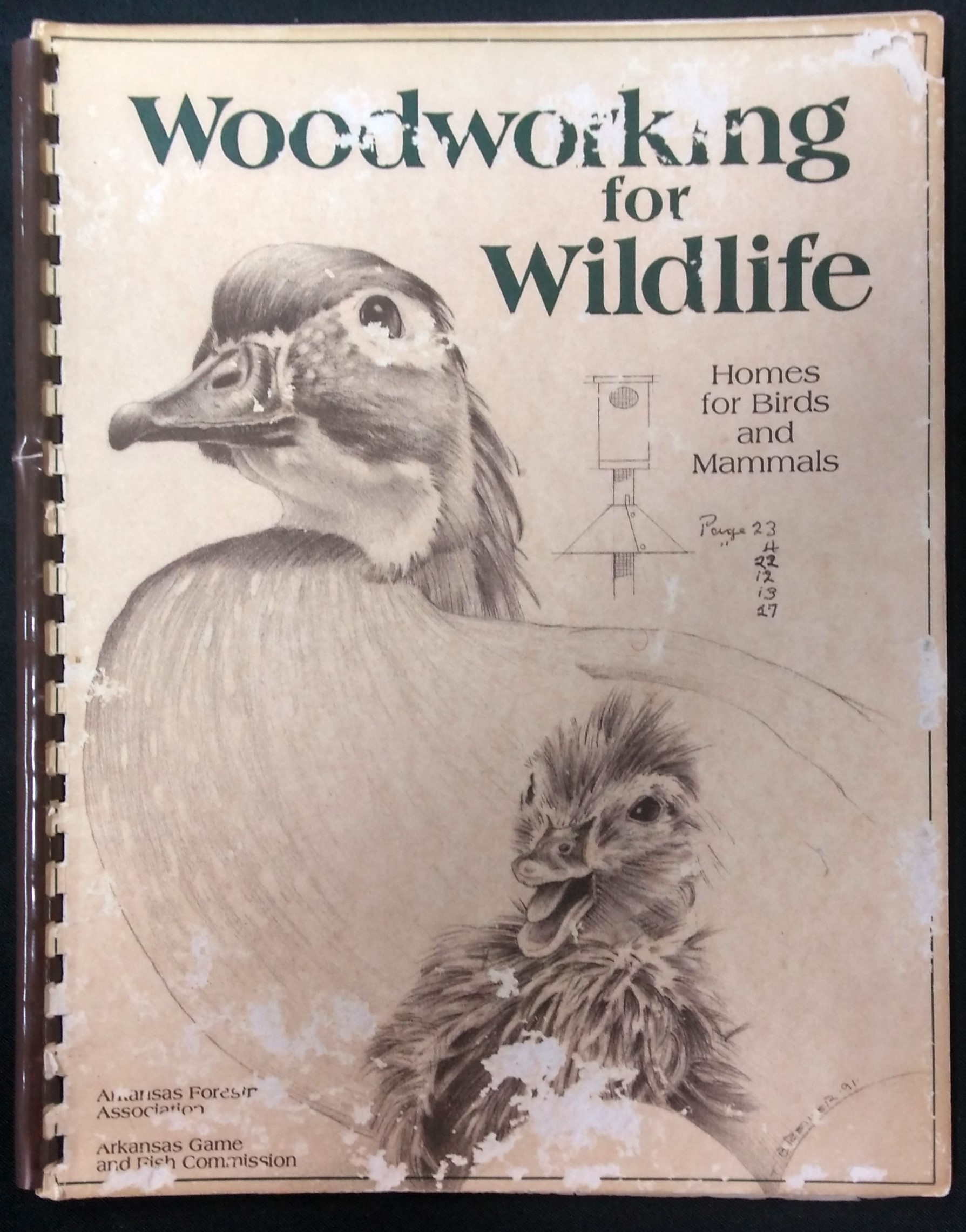 Image for WOODWORKING FOR WILDLIFE Homes for Birds & Mammals