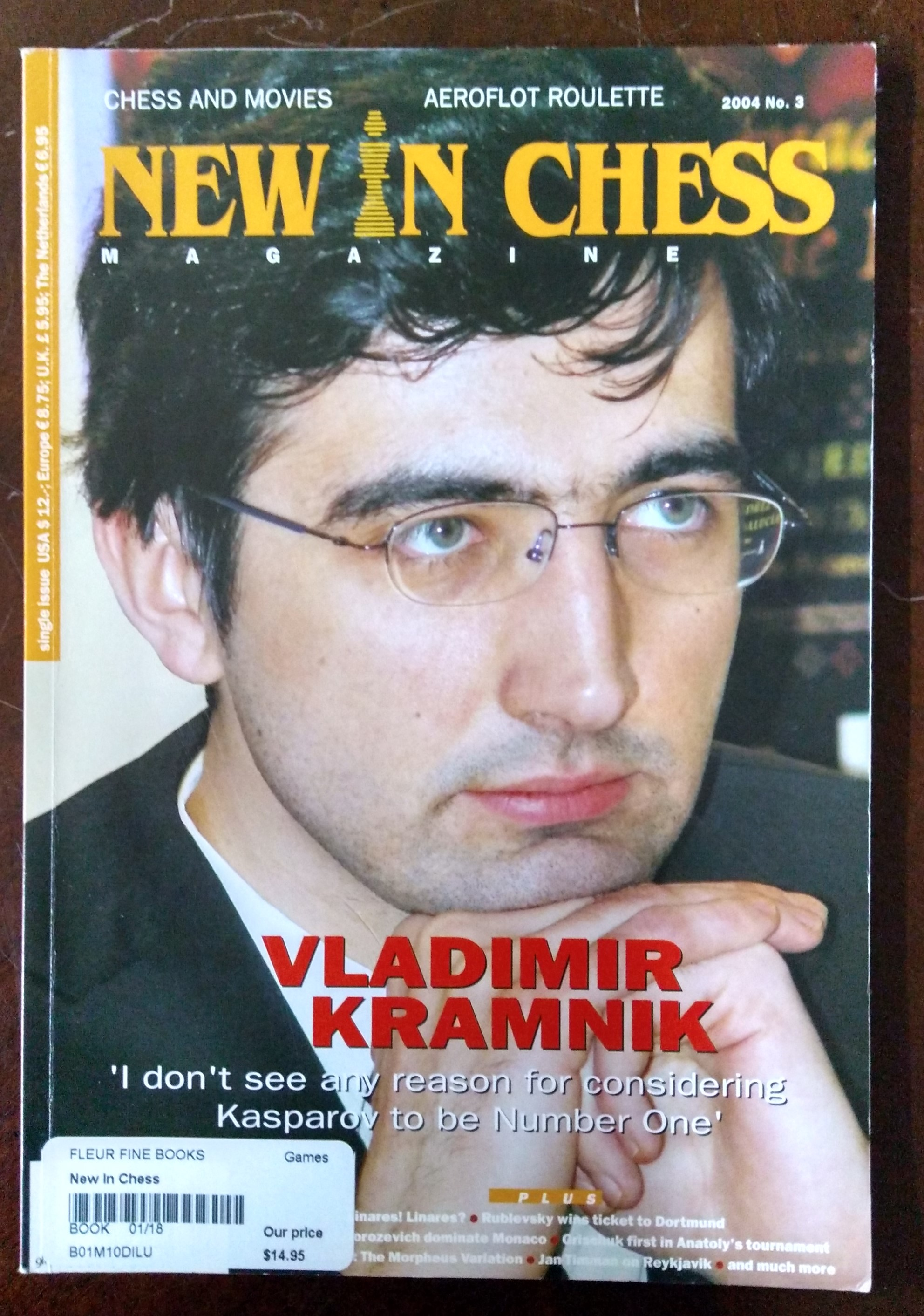 Image for New In Chess Magazine 2004-03
