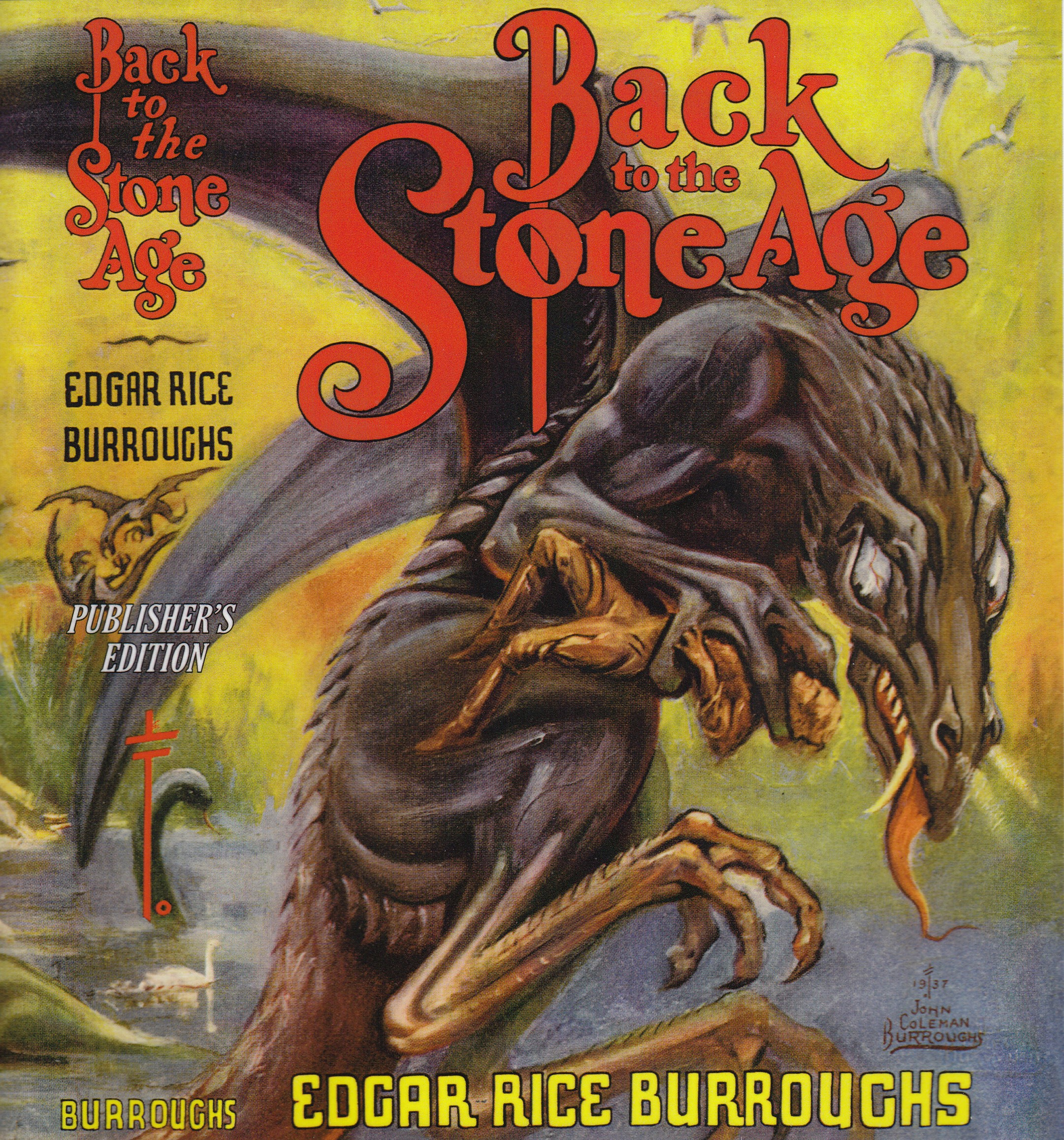 Image for Back to the Stone Age (SIGNED)